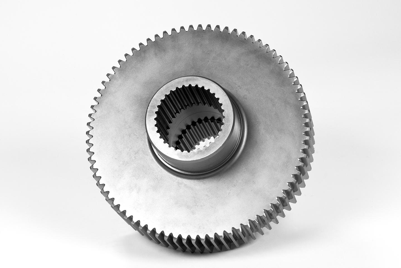 Engrane con dentado interior