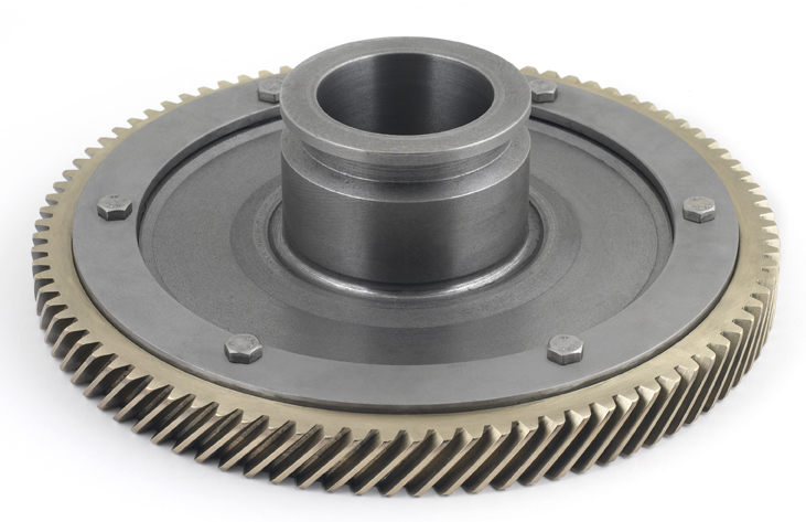Wheel and pinion finish cutting