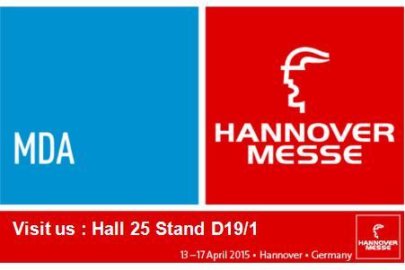 Engranajes Grindel á Hannover Messe 2015
